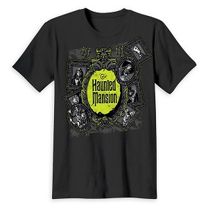 Disney Adult Shirt - The Haunted Mansion Logo
