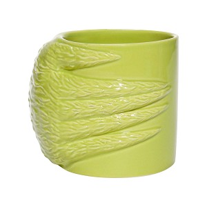Universal Coffee Cup Mug - Grinch Sculpted Hand