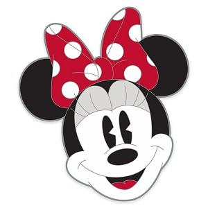 Disney Pin - Minnie Mouse Face
