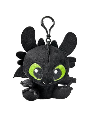 Universal Plush Keychain - How to Train Your Dragon - Toothless
