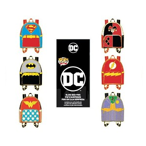 Loungefly Mystery Pin - DC Comics Mini Backpack Pin