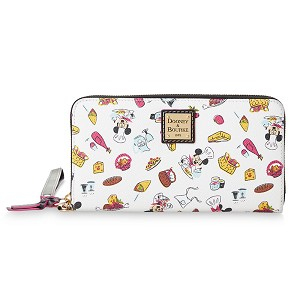 Disney Dooney and Bourke Wallet - Epcot Food and Wine 2020 - Mickey and Minnie Mouse