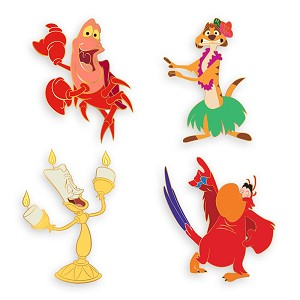 Disney D-Flair Pin Set - Disney Dance Party