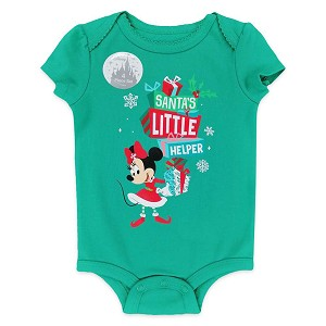 Disney Baby Bodysuit Set - Holiday Mickey Mouse and Friends