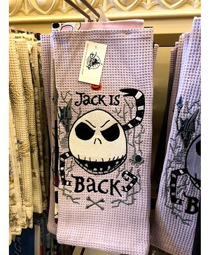 Disney Kitchen Towel Set - Nightmare Before Christmas - Jack Is Back