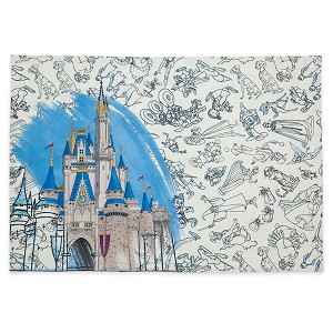 Disney Reversible Placemat - Ink and Paint - Cinderella Castle