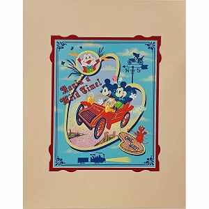 Disney Artist Print - John Coulter - Havin' a Wild Time