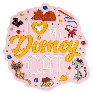 Disney Magnet - Reigning Cats and Dogs - I Love My Disney Cat