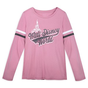 Disney Women's Shirt - Walt Disney World Football T-Shirt