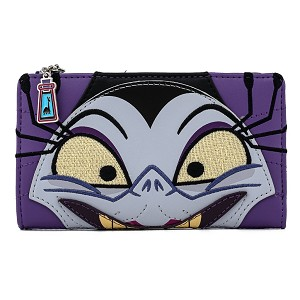 Disney Loungefly Wallet - Emperors New Groove - Yzma Cosplay Flap Wallet
