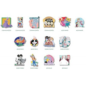 Disney 20th Anniversary of Disney Pins - #21 - Our Favorite Memories - Mystery Set - Blind Box - 2 Pins - LE
