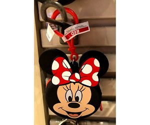 Disney Coin Purse Bag Charm - Minnie Mouse