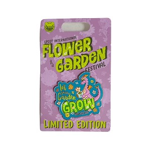 Disney Pin - Epcot Flower and Garden Festival 2021 - PASSHOLDER - Let Your Garden Grow - Figment - Limited Edition