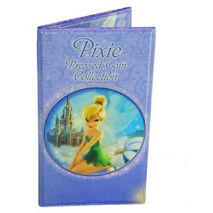 Disney Pressed Penny Collector Book - Tinker Bell Pixie 1st Edition