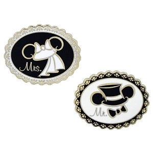 Disney Mickey Pin - Wedding Ear Hats