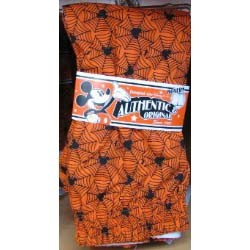 Disney Halloween Boxer Shorts - Orange Mickey Spider Logo