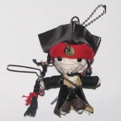 Disney Key Chain - Pirates of the Caribbean - String Jack Sparrow