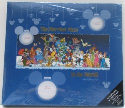 Disney Scrapbook Album 12 x 12 - Merriest Place on Earth Christmas