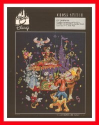 Disney Cross Stitch Kit - 35th Anniversary Celebration