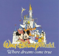 Disney Window Decal - Mickey and Pals - Where Dreams Come True
