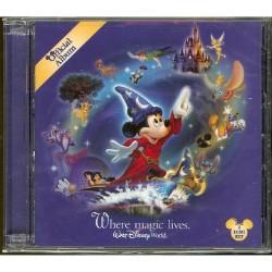 Disney Cd Where Magic Lives 2nd Edition 2 Disc Set