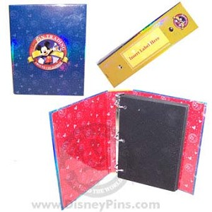 Disney Holographic Pin Trading Album - Small