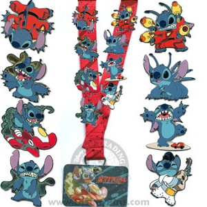 Disney Deluxe Pin Starter Set - Stitch