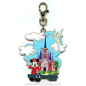 Disney Lanyard Medal - Retro Walt Disney World Resort Collection