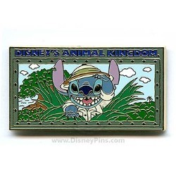 Disney Animal Kingdom Pin - Safari Stitch