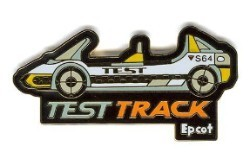 Disney Epcot Pin - Test Track