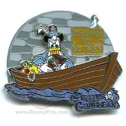 Disney Gasp, Grasp & Go! Pin - Pirates of the Caribbean - Donald Duck