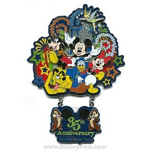 Disney Jumbo Pin - 35 Magical Years - Magic Kingdom Park