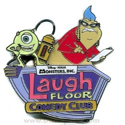 Disney Attraction Pin - Laugh Floor Attraction - Logo