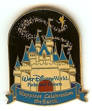 Disney Happiest Celebration On Earth Pin - Cinderella's Castle