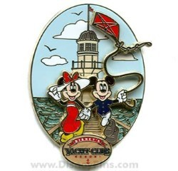 Disney Resort Pin - Yacht Club - Logo