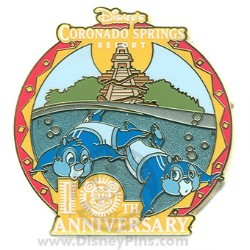Disney Resort Pin - Coronado Springs - 10th Anniversary