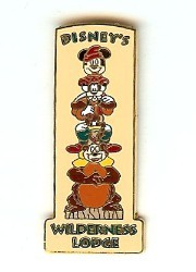 Disney Resort Pin - Wilderness Lodge Totem Pole