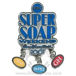 Disney Super Soap Weekend Pin - Dangles