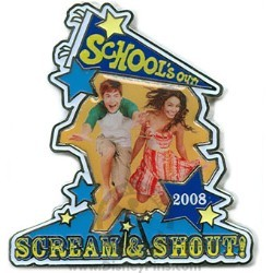 Disney High School Musical Pin - School's Out!