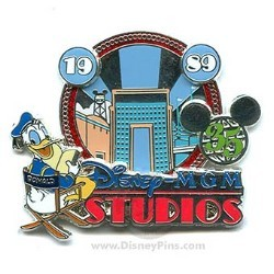 Disney 35 Magical Milestones Pin - 1989 - Disney-MGM Studios Opens