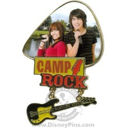 Disney Camp Rock Pin - Premier