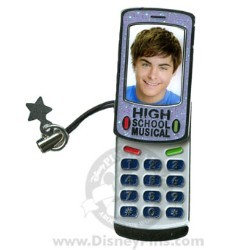 Disney Cell Phone Pin - High School Musical