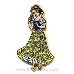 Disney Princess Pin - Snow White - Jeweled