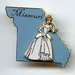 Disney State Program Pin - Missouri