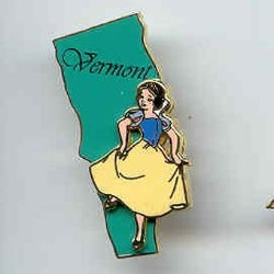 Disney State Program Pin - Vermont