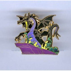 Disney Sleeping Beauty Pin - Villain Collection - Dragon