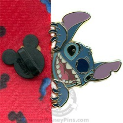 Disney Lanyard Peeker Pin - Stitch