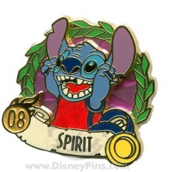 Disney Summer of Champions Pin - Spirit - Stitch