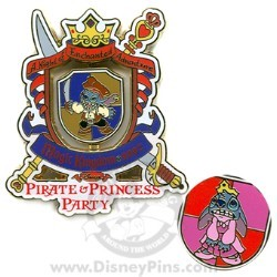 Disney Stitch Pin - Disney's Pirate & Princess Party 2007