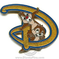 Disney Chip and Dale Pin - Disney D